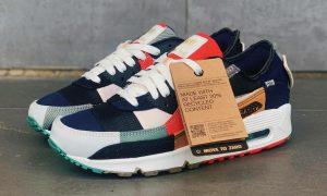 Nike Air Max 90 Scrap College Navy DJ4878-400 发布日期信息