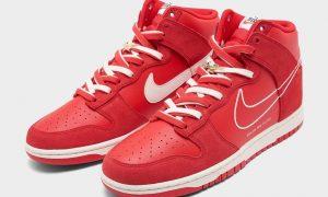 Nike Dunk High First Use University Red Sail DH0960-600 发布日期信息