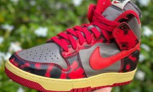 Nike Dunk High Red Camo DD9404-600 发布日期