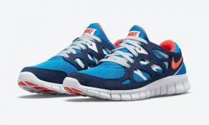Nike Free Run 2 Blue Orange 537732-403 发售日期信息