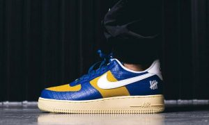 Undefeated Nike Air Force 1 Low Dunk vs AF1 Pack 上脚
