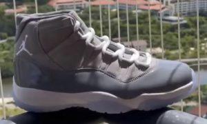 Air Jordan 11 Cool Grey CT8012-005 2021 发售日期