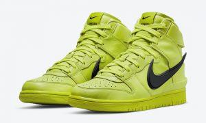 Ambush Nike Dunk High Flash Lime CU7544-300 发布日期