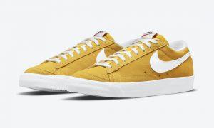 Nike Blazer Low Speed Yellow DA7254-700 发布日期