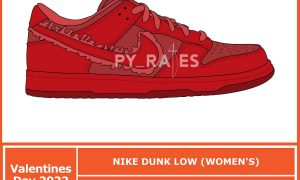 Nike Dunk Low 情人节 WMNS 2022 发售日期价格