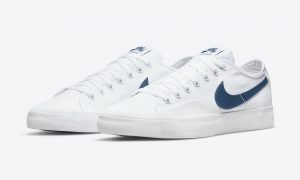 Nike SB Blazer Court White Court Blue CV1658-104 发布日期