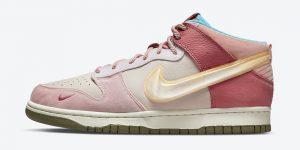 社会地位 Nike Dunk Mid Pink Glaze DJ1173-600 发布日期