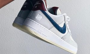 Undefeated Nike Air Force 1 Low Dunk vs AF1 灰蓝红发布日期