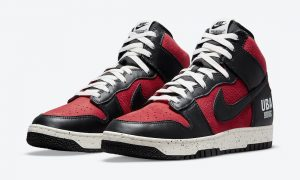 Undercover Nike Dunk High UBA Gym Red DD9401-600 发布日期