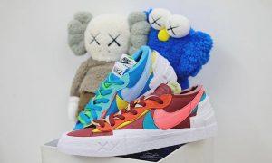 Kaws Sacai Nike Blazer Low DM7901-400 DM7901-600 发售信息