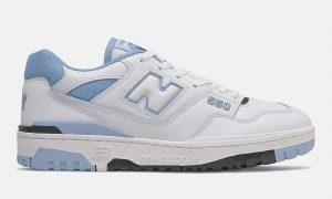 New Balance 550 白色浅蓝色 BB550HL1 发布日期