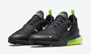 Nike Air Max 270 Black Neon DO6392-001 发布日期