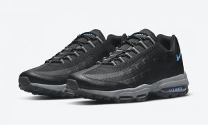 Nike Air Max 95 Ultra Black Blue DO6705-001 发布日期