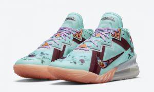 Nike LeBron 18 Low Floral CV7562-400 发布日期