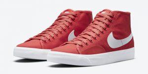 Nike SB Blazer Court Mid Red White DC8901-600 发布日期