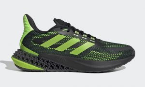 adidas 4DFWD Pulse Core Black Signal Green Q46451 发布日期
