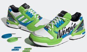 川崎忍者 adidas ZX 8000 GW3358 发售日期