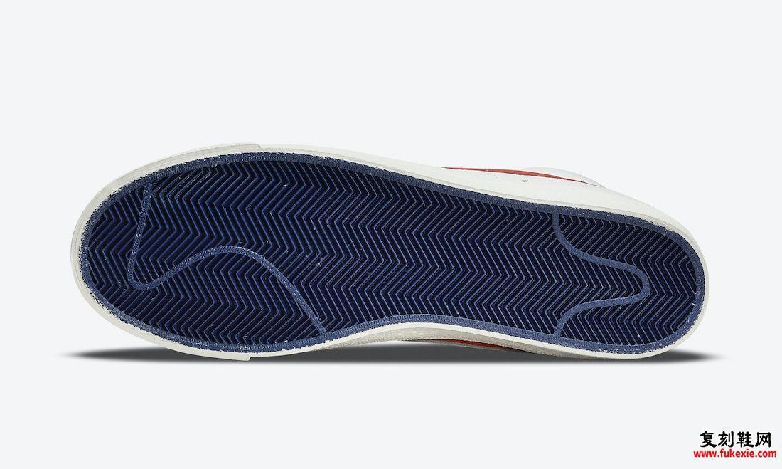 NBA Nike Blazer Mid 尼克斯队 DD8025-100 发布日期