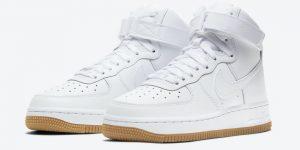 Nike Air Force 1 High White Gum DH1058-100 发布日期