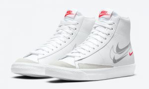Nike Blazer Mid GS Multi Swoosh DO6487-100 发布日期