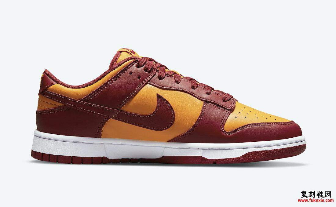 Nike Dunk Low Midas Gold Tough Red DD1391-701 发布日期