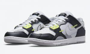 Nike Dunk Low Scrap Black White Wolf Gray Lemon Twist DC9723-001 发布日期