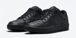 Nike SB Force 58 Premium Black DH7505-001 发售日期