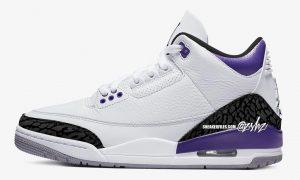 Air Jordan 3 Dark Iris 发售日期模拟