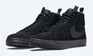 Nike SB Blazer Mid Premium Acclimate Black DC8903-002 发布日期