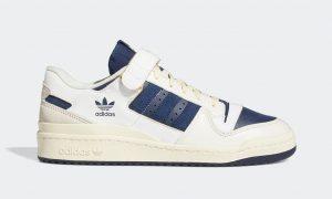 adidas Forum 84 Low White Navy GZ6427 发售日期